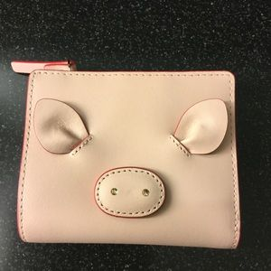 Kate Spade small Shawn year of the Pig Wallet NWT